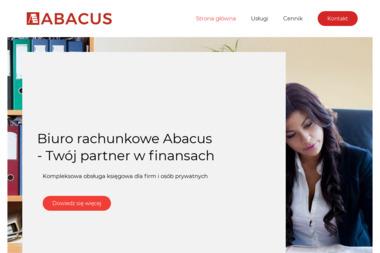 """Biuro Rachunkowe """"ABACUS"""" - Finanse Nowy Tomyśl"""