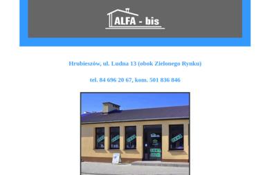 ALFA-bis - Okna drewniane Hrubieszów