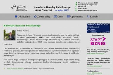 Kancelaria Doradcy PodatkowegoAnna Niemczyk - Finanse Tarnobrzeg