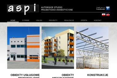 a.s.p.i - Autorskie Studio Projektowo-Inwestycyjne - Projektowanie Domów Mielec