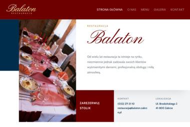 """Restauracja """"Balaton"""" - Gotowanie Zabrze"""