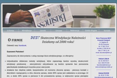 Biuro Finansowe BEST - Windykacja Rzeszów