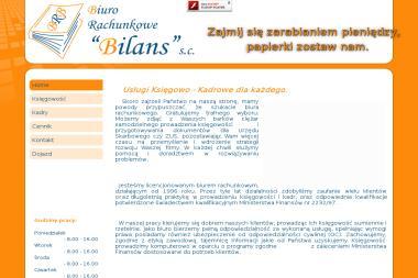 """Biuro Rachunkowe """"BILANS"""" s.c. - Usługi finansowe Kępno"""