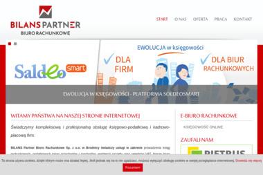 """""""Bilans"""" Biuro Rachunkowe - Usługi finansowe Brodnica"""