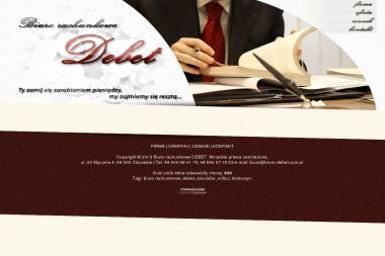 Biuro Rachunkowe DEBET - Prowadzenie Rachunkowości Cieszków