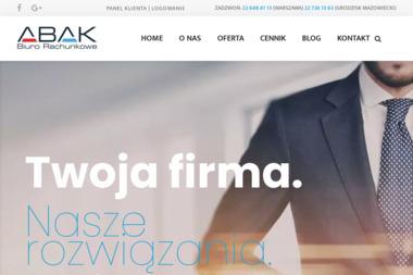 Biuro Rachunkowe ABAK - Doradca finansowy Grodzisk Mazowiecki
