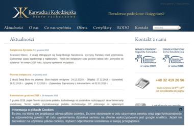 Spółka K&K Bogumiła Karwacka Zofia Kołodziejska Doradcy Podatkowi s.c. - Biuro rachunkowe Kuźnia Raciborska