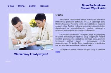Usługi Rachunkowo-Księgowe Wysokiński Tomasz - Finanse Łuków