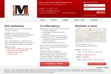 Biuro rachunkowe Multi Investments - Biuro rachunkowe Kielce