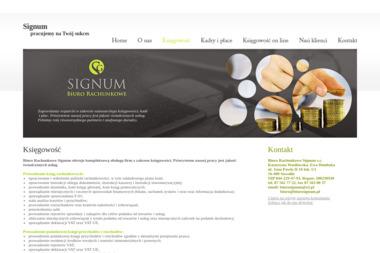Biuro Rachunkowe Signum s.c. - Księgowy Suwałki