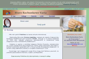 Biuro Rachunkowe Varia - Prowadzenie Rachunkowości Nowy Dwór Mazowiecki