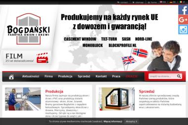 Bogdański Fabryka Okien i Drzwi - Parapety Nowy Sącz