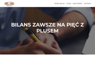"""Biuro Rachunkowe """"Bilans"""" Sp. z o.o. - Doradca finansowy Mińsk Mazowiecki"""