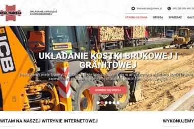 BRUK-WALCZAK - Układanie kostki granitowej Ostrów Wielkopolski