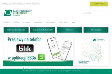Bank Spółdzielczy w Niechobrzu - Kredyt hipoteczny Niechobrz
