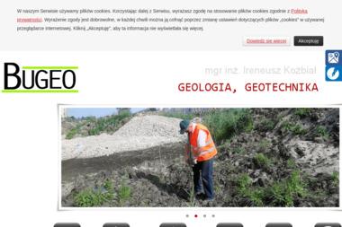 "BIURO GEOLOGICZNE ""BUGEO"" - Geolog Zielonka"