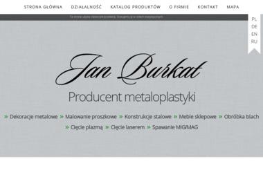Firma Produkcyjno-Handlowo -Usługowa JAN BURKAT - Spawalnictwo Myślenice
