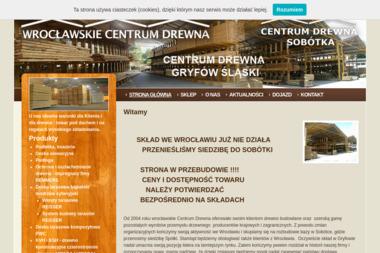 Wrocławskie Centrum Drewna - Skład drewna Wrocław