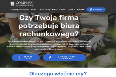 Biuro Rachunkowe Complex - Usługi finansowe Gryfino