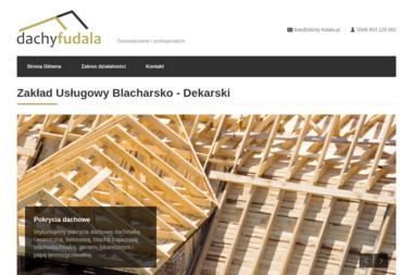 Zakład Usługowy Blacharsko-Dekarski Franciszek Fudala - Odśnieżanie Człuchów