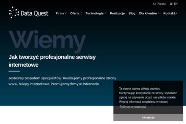 Dane Quest - Strony WWW Jastrzębie-Zdrój