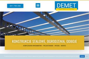 DEMET - Sprzedaż Ogrodzenie Metalowych MIRZEC