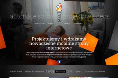 Autorskie Studio Projektowe Deos - Strony internetowe Ełk