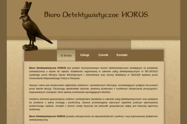 Biuro Detektywistyczne Horus - Detektyw Olsztyn