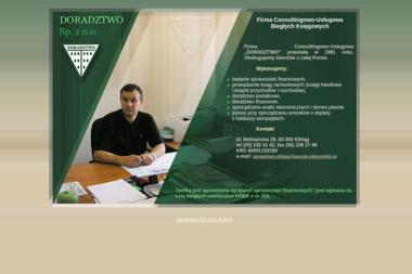 """Firma Consultingowo-Usługowa """"DORADZTWO"""" - Firma audytorska Elbląg"""