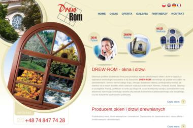 Drew-Rom - Okna Wałbrzych
