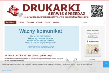 DRUKARKI - Serwis sprzętu biurowego Rzeszów