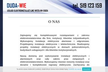 """""""Dudawie"""" Usługi elektroinstalacyjne Wiesław Duda - Elektryk Lublin"""