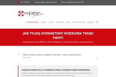 E-Wsparcie - Pozycjonowanie stron Gliwice