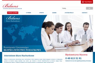 Biuro Rachunkowe Bilans - Prowadzenie Ksiąg Rachunkowych Białobrzegi