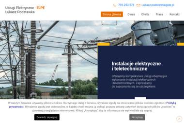 Usługi Elektryczne - ELPE - Montaż oświetlenia Motycz