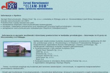 Zarząd Nieruchomości Elzam-Dom Sp. z o.o. - Agencja nieruchomości Elbląg