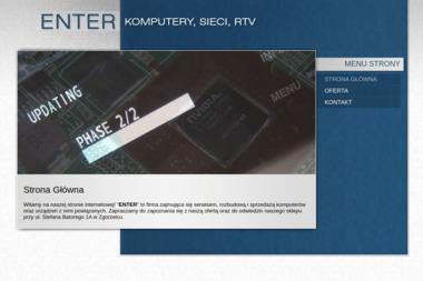 """""""ENTER"""" - Agencja interaktywna Zgorzelec"""