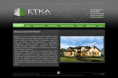 ETKA-PROJEKT - Projekty domów Oława