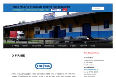 Firma HAŁAS - Sklep hydrauliczny Nowa Sól