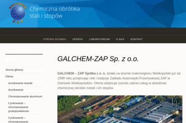 """Z. P. H. U. """"Galchem - Zap"""" - Ślusarz Ostrów Wielkopolski"""