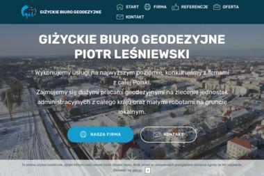 Giżyckie Biuro Geodezyjne Piotr Leśniewski - Geodeta Giżycko