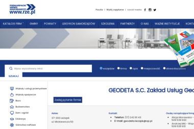 Geodeta S.C. Zakład Usług Geodezyjnych - Ekipa Budowlana Leżajsk
