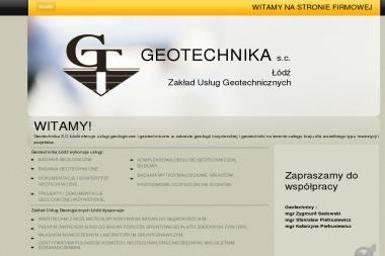 Geotechnika S.C - Firma Geodezyjna Łódź