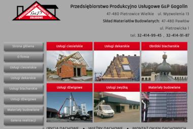 PPU G&P - Skład Budowlany Pietrowice Wielkie