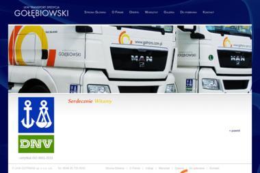 LKW Transport Spedycja GOŁĘBIOWSKI - Transport Drogowy Gorzów Wielkopolski