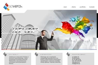 GOVERO - Agencja interaktywna Syców