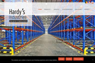 Hardy's Industries - Regały magazynowe Kraków