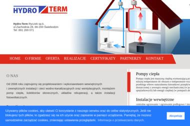 Hydro-Term - Gruntowe Pompy Ciepła Świebodzin