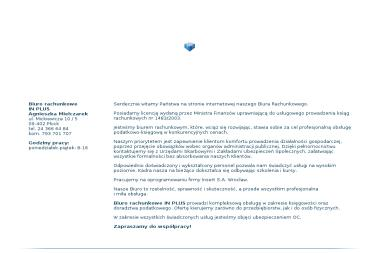 Biuro rachunkowe IN PLUS - Usługi finansowe Płock