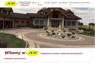 JCH-BRUK - Układanie kostki granitowej Łojki